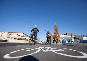 Bike Lanes Fall 2017